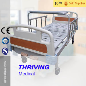 Two Function Manual Hospital Bed pictures & photos
