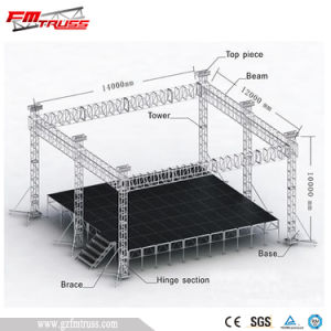 Aluminum Mobile Stage Frame for Sale pictures & photos