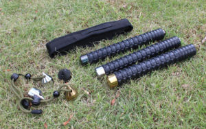 Outdoor Alloy Steel Self Defense Expandable Baton (SYSG-1884) pictures & photos
