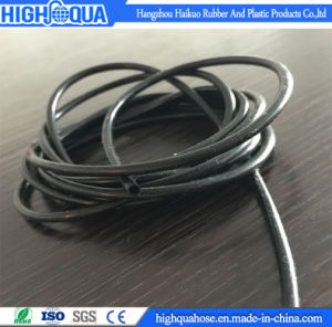 Durable Fiber Braid Food Grade Colorful Rubber Silicone Hose pictures & photos