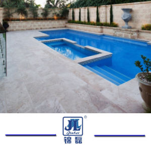 Natural Antiqued White Limestone Stone Pool Coping for Outdoor Floor Wall Countertop pictures & photos