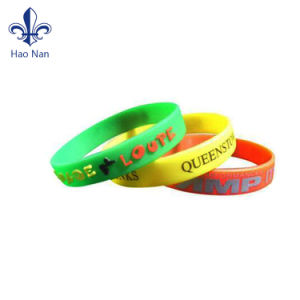 2017 Cheap Custom Festival Silicone Wristband pictures & photos