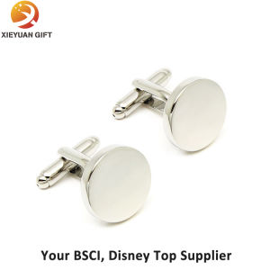 Hot Sale New Design Logo Rose Gold Cufflinks for Boys pictures & photos