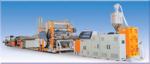 PMMA/PC Single-layer and Multi-layer Sheet Extrusion Line pictures & photos