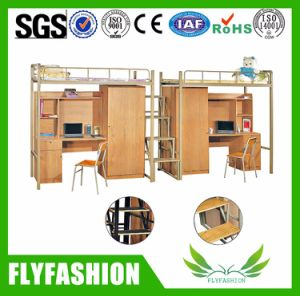 University Furniture Student Dormitory Beds with Cabinet (BD09) pictures & photos