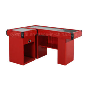 Supermark Store Bench Shopfitting Check out Cash Counter pictures & photos