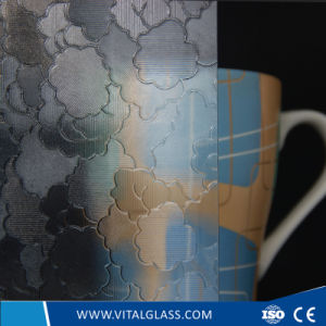 3-6mm Mora N Pattern Glass with CE & ISO9001 pictures & photos