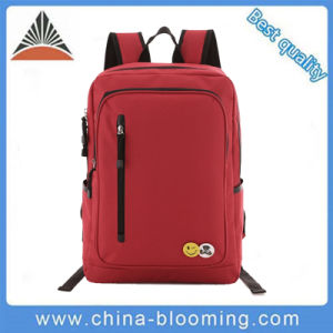 Girls Red 600d Polyester School Children Student Document Backpack Bag pictures & photos