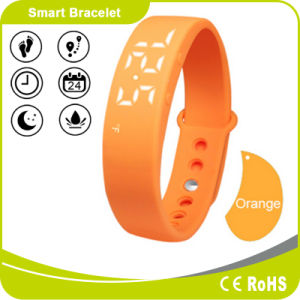 Silicone Bluetooth Pedometer Smart Bracelet fitness Band pictures & photos