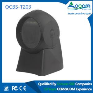 Ocbs-T203 Desktop Handfree 1d/2D Imaging Barcode Scanner pictures & photos