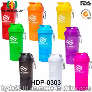 Wholesale 2017 PP BPA Free Plastic Protein Shake Bottle (HDP-0303) pictures & photos
