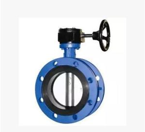 High Quality Electric Adjustable Ductile Iron Flange Butterfly Valve pictures & photos