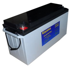 12V 150ah Deep Cycle Solar Gel Battery for Solar Systems pictures & photos