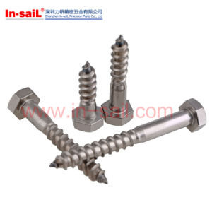 DIN571 Hexagon Head Wood Screws pictures & photos