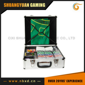 600PCS Luxury Poker Chip Set in Aluminum Case (SY-S31) pictures & photos
