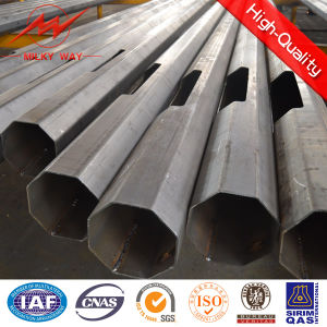 Galvanized Steel Poles 12m Electric Pole Utility Pole Delivery Time pictures & photos