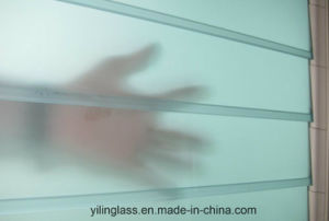 Tempered Frosted Louvre Glass with Ce TUV SGCC Certificate pictures & photos