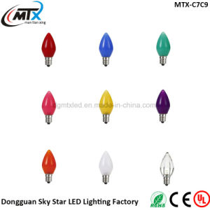 E12 E17 Multicolor Foggy Candle lamp Christmas light pictures & photos
