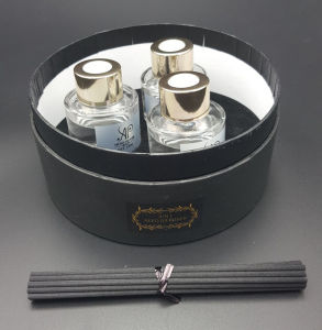 3 in 1 of 120ml with Rattan Sticks for Home Reed Diffuser Gift Sets pictures & photos