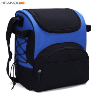Blue Large Shoulder Picnic Wine Cooler Bag with Bottle Holder for Men and Women pictures & photos