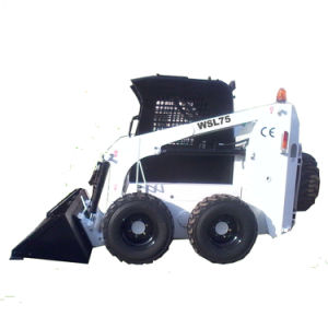 Hytger 0.75ton Wheel Skid Steer Loader pictures & photos