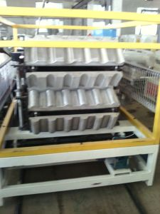 PVC PP PE PC Coating Synthetic Resin Roofing Tiles Production Line pictures & photos