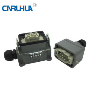 Hdc-He-006 Welding Cable Connector Male pictures & photos