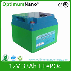 LiFePO4 Battery Pack 12V 33ah Golf Trolley Battery pictures & photos