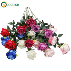 Wholesale Big Rose Artificial Flower pictures & photos