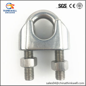 Forged Stainless Steel DIN741 Wire Rope Clip pictures & photos