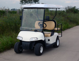 3000 W 2+2 Seats Classic Electric Golf Cart pictures & photos