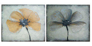 Wholesale Handmade Modern Abstract Flower Group Painting (LH-073000) pictures & photos