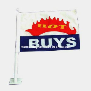 Popular Sport Advertise Car Flag