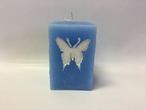 Hot Selling Butterfly Curved Paraffin Wax Candle pictures & photos