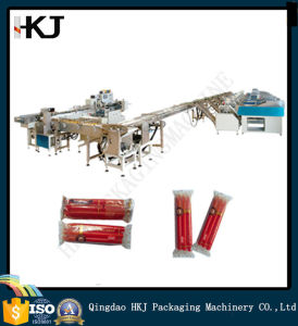 High Quality Automatic Candle Packaging Machine with 8 Weighers pictures & photos