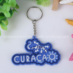 Promotional 3D Soft PVC Key Chain Popular Rubber Key Tags 3D Animal Keychains pictures & photos