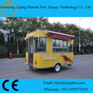 USA Need Yellow Food Catering Trailers with Windows Around Trailer pictures & photos