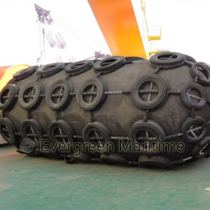 Yokohama Pneumatic Rubber Inflatable Marine Fender for Ship to Ship, Ship to Quay Transfer Combined with ISO 17357 pictures & photos