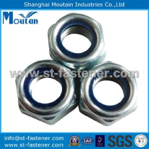 Nylon Lock Nuts with DIN982 Zinc Plated