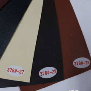 Genuine Leather Touch Feel PVC Leather for Furniture (Hongjiu-378#) pictures & photos