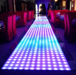 Party Diaso DMX Control 60*60cm RGB Indoor Effect LED Dance Floor pictures & photos