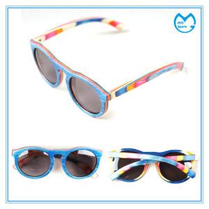 Rosin Lens Custom Wooden Frame Prescription Sunglasses pictures & photos