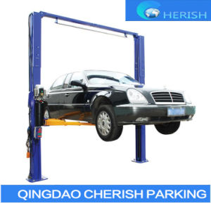 5500kgs Two Post Double Cylinder Hydraulic Auto Car Lifts pictures & photos
