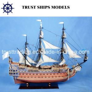 Home Decoration 31cm Hms Victory Wooden Ship Model pictures & photos