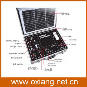 Portable Suitcase Portabel Solar System Support Two Way Charge pictures & photos
