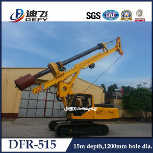 High Quality Dfr-515 Crawler Mounted Pile Driver Hydraulic Piling Drilling Rig for Sale pictures & photos