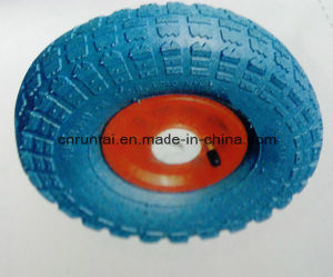 """Pneumatic Inflatable 10 Inch 10""""X3.50-4 Rubber Wheel pictures & photos"""