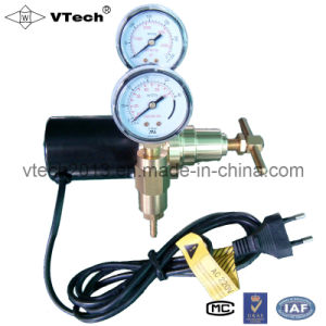 Gas Regulator with Two Pressure Gauge (W-199-2S)