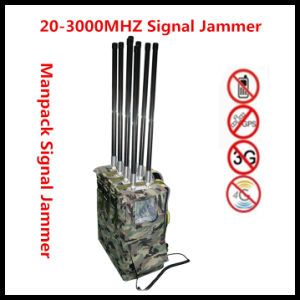 VIP Backpack Jammer Manpack Signal Jammer Portable Jammer, Convey Vechile Jammer pictures & photos