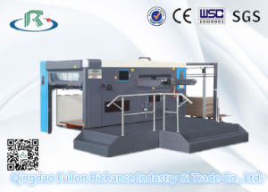 Semi Automatic Flat Bed Die Punching Machine pictures & photos